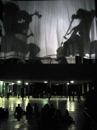 Tony Conrad performance at Tate Modern